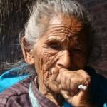Rostos do Nepal
