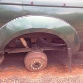 Um acidente e um mistério a caminho da Namíbia